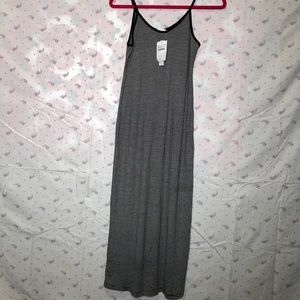 Abound simple long dress stripped